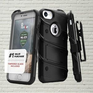 Iphone 7+/8+ Black Rugged Protective Case